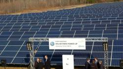 Volkswagen napelemes rendszer