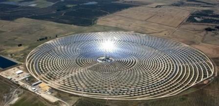 A világ legnagyobb naperőmüve