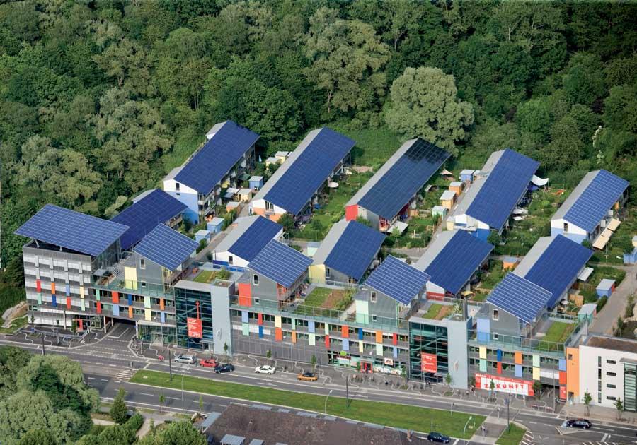 Napelemek hatékonyan Németországban