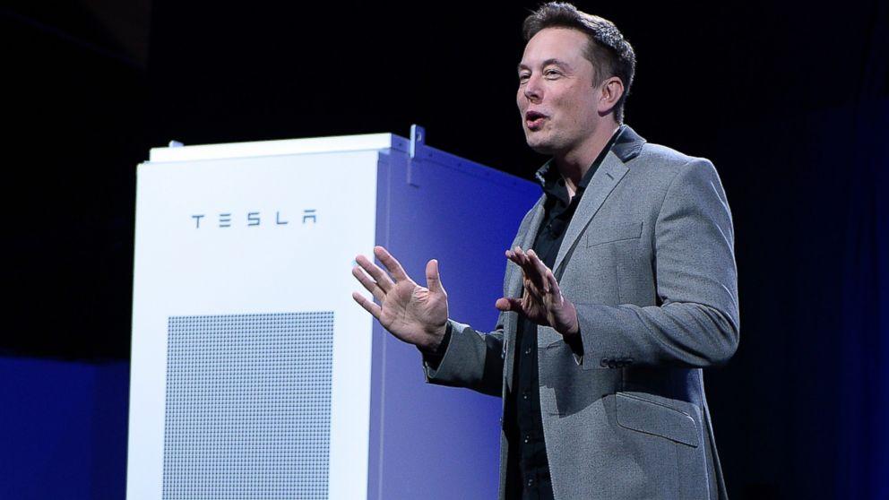 Elon Musk bejelentése - Tesla akkumulátor