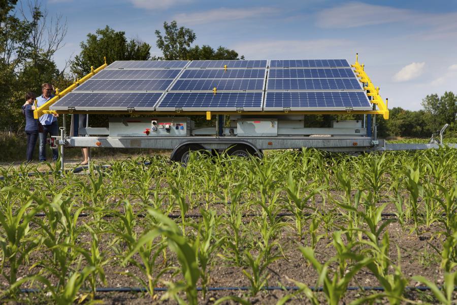 Wien Energie napelemes öntözés