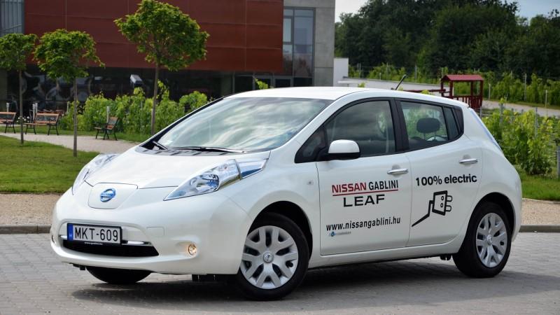 Nissan Leaf modell a legsikeresebb az elektromos autó piacon.