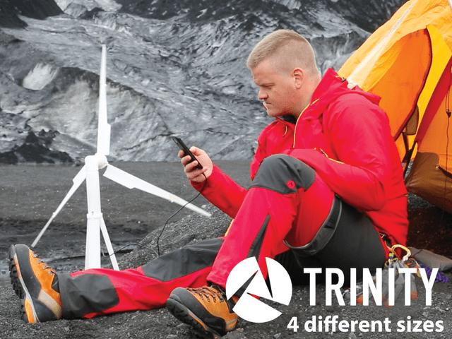 4 trinity - mobil szélerőmű - a piacon